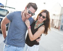 Jessica and Eric in Miami Wynwood Arts District